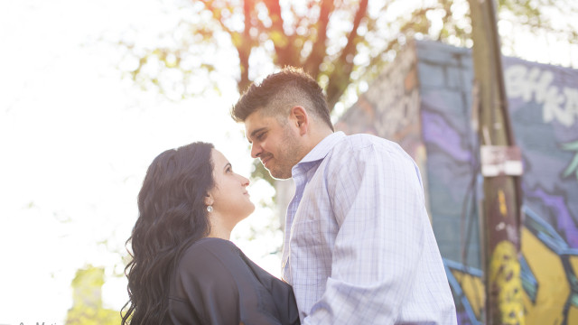 Liz + Jerry's Engagement Photo Shoot